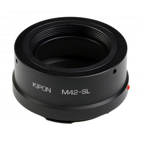 Adaptador Kipon de objetivos rosca M42 para Leica SL TL T