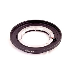 Adaptador RJ Camera de objetivos Leica-M para Fuji GFX50S
