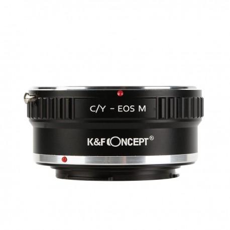 Adaptador K&F concept de objetivos Contax/Yashica para Canon EOS-M