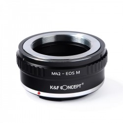 M42 Lenses to Canon EOS M Camera Mount Adapter