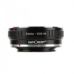 Adaptador K&F concept de objetivos Konica-AR para Canon EOS-M