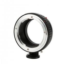 Adaptador K&F concept de objetivos Konica-AR para Canon EOS-M (con soporte para trípode)