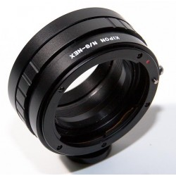 Adaptador objetivos Nikon-G para Sony NEX