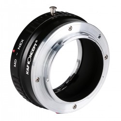Minolta MD Lenses to Sony NEX E Camera Mount Copper Adapter