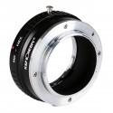 Adaptador version II de K&F concept de objetivos Minolta-MD para Sony-E