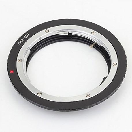 Adaptador Pixco de objetivos Olympus OM a Canon EF (con chip GE-1)