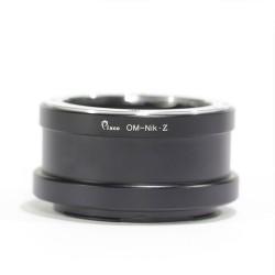 Olympus-OM adapter for Nikon-Z cameras