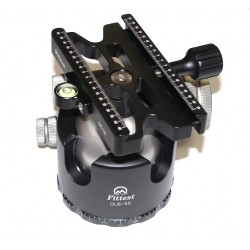 Fittest DLB-55 Ballhead with Fittest Lever Clamp DAC-100