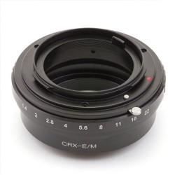 Adaptador montura Contarex para Canon EOS-M