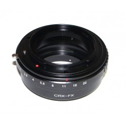 Adapter for Contarex lens to Fuji-X