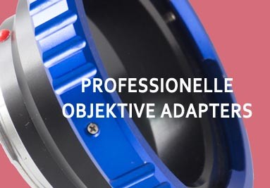 Professionelle Objektive Adapters