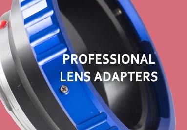 Professional lens mount adapters