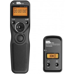 Shutter release cable with LCD and timer for Canon/Nikon/Sony/Olympus/Panasonic