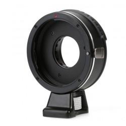 Adaptador Canon EOS con diafragma para micro 4/3