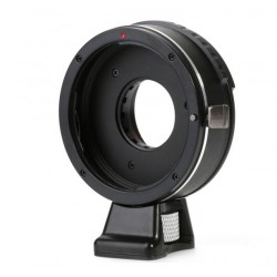 Adapter with diaphragm for Canon EOS  lens to micro 4/3