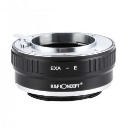 Adaptador K&F Concept de  objetivos Exakta para Sony-E