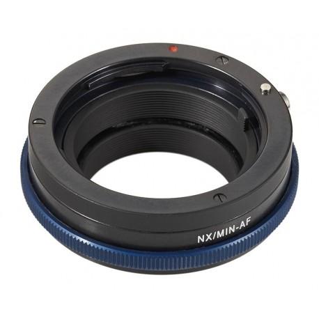 Adaptador Novoflex de Sony Alpha/Minolta-AF para Samsung NX
