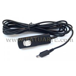 Cable Disparador 3m para Nikon D80, D70s