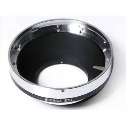Adaptador objetivos Bronica ETR para Canon EOS