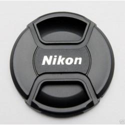 Tapa frontal Nikon para objetivos 52mm
