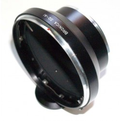 Adaptador objetivos Bronica SQ para Nikon