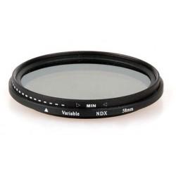 Filtro Densidad neutra ND variable diametro 58mm
