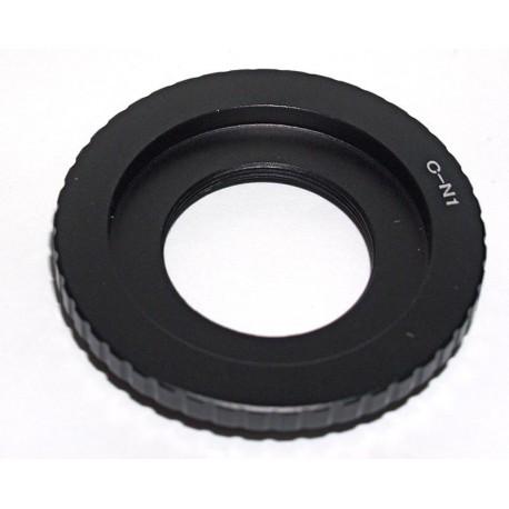 Adaptador objetivos Cine (rosca C) a Nikon 1