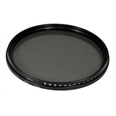 Filtro Densidad neutra ND variable diametro 77mm