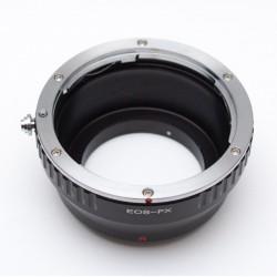 Adaptador objetivos Canon EOS para Fuji-X