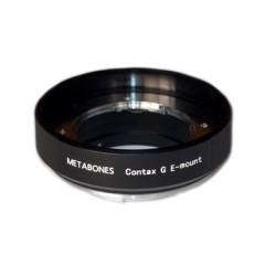 Metabones adapter for Contax-G lens to Sony E-mount