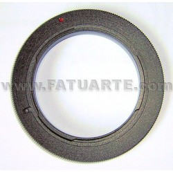 Reverse ring for 58mm lens to Olympus 4/3