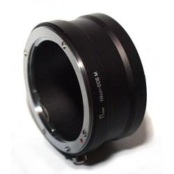 Adaptador objetivos Nikon para Canon EOS-M