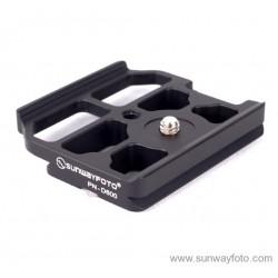 Zapata Sunwayfoto especial para Nikon D600