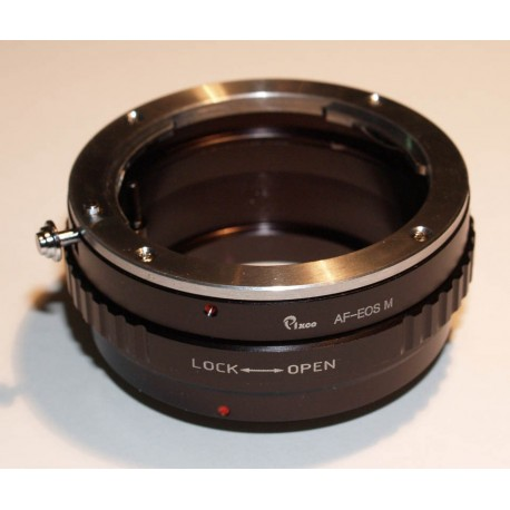 Adaptador objetivos Alpha/Minolta-AF para EOS-M