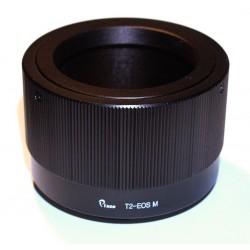 Adaptador objetivos rosca-T para Canon EOS-M