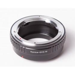 Adaptador objetivos Konica-AR para Canon EOS-M