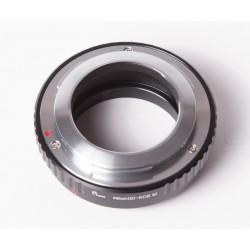 Adaptador objetivos Nikon(S) para Canon EOS-M
