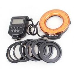 Foco/Flash LED anular para Canon, Nikon, Pentax, Olympus