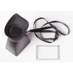 """Visor para LCD de 3"""" (EOS 550D, 600D, 60D Nikon D90..)"""