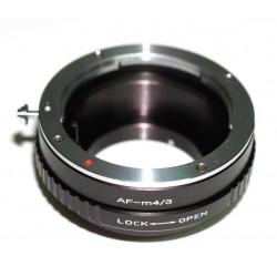Adaptador objetivos Sony-Alpha (Minolta-AF) para micro-4/3
