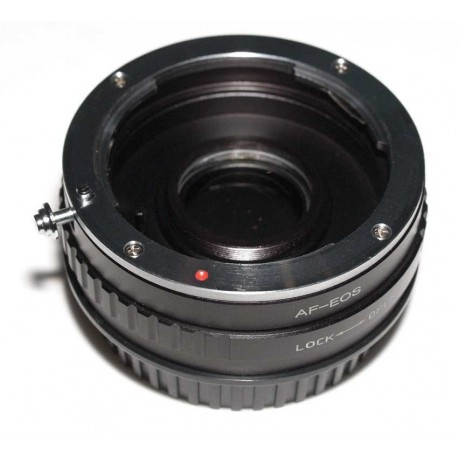 Adaptador objetivos Alpha/Minolta-AF para EOS