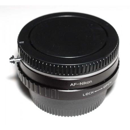 Adaptador objetivos Alpha/Minolta-AF para