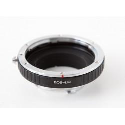 Adaptador montura Canon EOS para cámaras leica-M