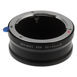 Fotodiox PRO adapter, 35mm Fuji Fujica X-Mount Lenses to Sony E-Mount NEX Camera