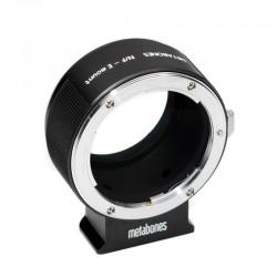 Adaptador Metabones de Objetivos Nikon a NEX II