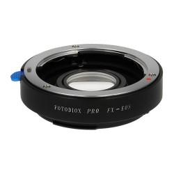 Fotodiox PRO adapter, 35mm Fuji Fujica X-Mount Lenses to EOS mount camera