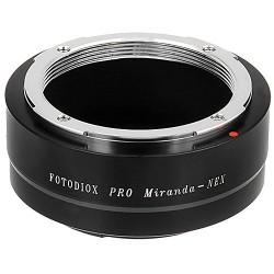 Adaptador Fotodiox Pro de objetivos Miranda para Sony NEX