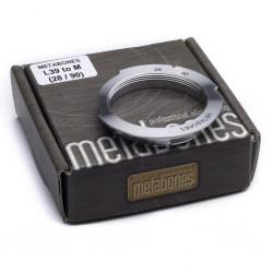 Adaptador Metabones de rosca M39 a Leica-M (6 bit -28/90))
