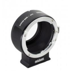 Adaptador Metabones vers. II de Objetivos Nikon a micro-4/3