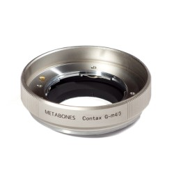 Metabones adapter for Contax-G lens to micro-4/3 (silver)